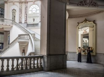 """Teatro Nacional"", 2012 La Habana. 150 x 110 cm"
